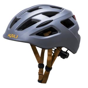 Шлем велосипедный KALI URBAN/CITY/MTB с фонариком CENTRAL Sld, матовый темно-серый  2019Велошлемы<br>21 вентиляционное отверстие, сменная антибактериальная подкладка, интегрированный козырек,  светодиодный фонарь, технология Composite Fusion™, Central шлем для городских велосипедистов. 270 гр. <br>Сертификаты безопастности EN 1078, CPSC, микрорегулировка, инд. уп
