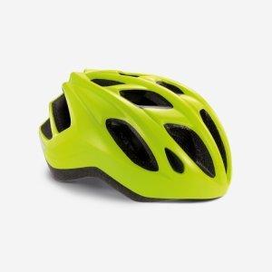Велошлем Met Espresso High Visibility, желтый 2019Велошлемы<br>Лёгкий универсальный шлем от Met, достаточно безопасный для серьёзных занятий спортом и достаточно удобный для того, чтобы вы забыли о нём во время езды. Его основные особенности – увеличенная затылочная часть, удобная регулируемая застёжка из лёгкого текстиля и впаянный в жёсткий корпус пенопластовый внутренник, обеспечивающий лучшую абсорбацию ударов. Кроме того, размер шлема регулируется от 54 до 61 сантиметра, так что вам не составит труда подогнать его под себя.<br><br><br><br>ОСОБЕННОСТИ<br><br><br><br>Максимально лёгкий и технологичный универсальный шлем<br><br>Монолитная конструкция – пенопластовый внутренник впаян в жёсткий корпус шлема<br><br>Сменные внутренние накладки из гипоаллергенного материала<br><br>Светоотражающие наклейки