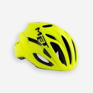 Велошлем Met Rivale Safety, желто-черный 2019Велошлемы<br>Rivale - лёгкий и современный шлем от Met, который отлично показал себя при испытаниях в аэродинамической трубе. Особая форма этого шлема позволяет гонщику экономить до 3 ватт мощности при скорости в 50 км/ч (по сравнению с аналогичными моделями), что действительно немало. Заметим также, что при этом Rivale стильно выглядит и отлично вентилируется. Оптимальный выбор для тех, кто серьёзно относится к соревнованиям и стремится показывать наилучшие результаты.<br><br><br><br>ОСОБЕННОСТИ<br><br><br><br>Монолитная конструкция – пенопластовый внутренник впаян в жёсткий корпус шлема<br><br>Большие отверстия для вентиляции<br><br>Сменные внутренние накладки из гипоаллергенного материала<br><br>Фирменная система застёжек под названием Safe-T Advanced<br><br>Стропы застёжек выполнены из сверхлёгкого текстиля<br><br>Светоотражающая наклейка сделает вас заметнее в тёмное время суток<br><br>Отвечает требованиям таких стандартов безопасности, как CE, AS и CPSC<br><br>Вес 230 гр.