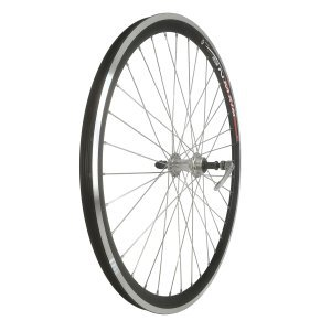 Колесо 28 заднее, обод двойной алюминиевый, с эксцентриком, цвет серебристыйКолеса для велосипеда<br>Колесо 28 заднее, обод двойной алюм. б/пист. чёрный, алюм. втулка,с эксцентриком, цвет серебр.<br><br>Диаметр колеса: 28<br><br>Количество скоростей: 5 6 7<br><br>Количество спиц: 36<br><br>Параметры задней втулки: 10х135мм<br><br>Подходит для тормозов: Ободные<br><br>Расположение колеса: Заднее<br><br>Состояние колеса: Колесо в сборе<br><br>Тип обода: Двойной