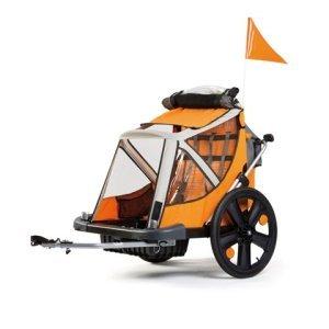 Прицеп BELLELLI для перевозки детей B-TRAVEL, оранжевый, 01TRLTS0011Велоприцепы и аксессуары<br>Тележка для перевозки детей Bellelli Trailer B-Taxi предназначена для детей от 2х лет до 4 лет (максимальная нагрузка 26 кг). Специально сконструированная тележка для перевозки детей Bellelli Trailer B-Taxi крепится к задней оси велосипеда.<br><br>Абсолютно безопасная тележка для перевозки детей Bellelli Trailer B-Taxi имеет комфортное место для ребенка, большие проходимые колеса, которые пройдут по любым дорогам. Тележка имеет окошки из силиконовых и противомоскитных вставок.<br><br>Тележка для детей Bellelli Trailer B-Taxi изготовлена из высокопрочного водоотталкивающего материала, каркас тележки выполнен из прочного металла. Для безопасности ребенка предусмотрены ремни безопасности, которые удержат малыша от произвольного выпадения.<br><br>База, защищает от плохих дорожных условий и мелких ям;<br>5ти точечные ремни безопасности;<br>Защитная стальная рама обеспечит безопасность в случае столкновений;<br>Безопасное двойное соединение с велосипедом;<br>Складная крыша с москитной сеткой, ветрозащитные прозрачный перед;<br>Задний карман;<br>Быстро складывается.<br> <br>Возраст: от 2 до 4 лет (рост до 110 см);<br>Максимальная нагрузка: 35 кг;<br>Каркас рамы: металлический;<br>Цвет: оранжево-серый.