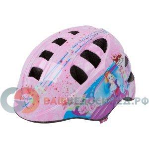 Велошлем детский Vinca, с регулировкой,  размер M(52-56см), цвет розовый, VSH 8 Princess Kate (M)Велошлемы<br>Шлем детский с регулировкой<br>размер M(52-56см)<br>розовый цвет<br>рисунок Принцесса<br>инд.уп.Vinca Sport