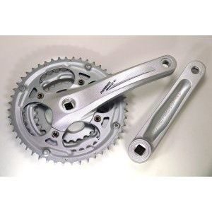 Система PROWHEEL SWIFT- 200*175mm,(48/38/28) AL-6061-T6, CHAINLINE: 50, BCD: 104/64, под квадрат