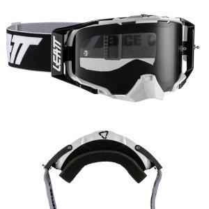 Очки велосипедные Leatt Velocity 6.5 Black/White Smoke, 8019100035Велоочки<br>Новый флагман компании Leatt, созданный для самых требовательных велогонщиков – максимально защищённая маска, обеспечивающая широкий обзор в 170 градусов. Благодаря своей конструкции и тщательно продуманным деталям эта маска великолепно выполняет свои функции<br><br><br><br>Особенности:<br><br>•Пуленепробиваемая линза, протестированная по военным стандартам безопасности для защитных очков и масок.<br><br>•Линза универсальна и подходит ко всему ассортименту очков, включая комплект перемотки.<br><br>•Лёгкая система застёгивания/отстегивания линзы.<br><br>•Двойная стеклянная линза со специальным покрытием против запотевания Antifog.<br><br>•Доступны линзы со светочувствительностью от 20% до 83%.<br><br>•Широкий угол обзора 170 градусов.<br><br>•Двойная плотная оправа — твердая с внешней стороны и мягкая с внутренней.