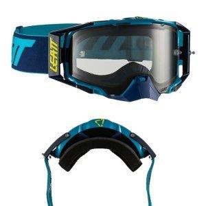 Очки велосипедные Leatt Velocity 6.5 Ink/Blue Light Grey, 8019100031Велоочки<br>Новый флагман компании Leatt, созданный для самых требовательных велогонщиков – максимально защищённая маска, обеспечивающая широкий обзор в 170 градусов. Благодаря своей конструкции и тщательно продуманным деталям эта маска великолепно выполняет свои функции<br><br><br><br>Особенности:<br><br>•Пуленепробиваемая линза, протестированная по военным стандартам безопасности для защитных очков и масок.<br><br>•Линза универсальна и подходит ко всему ассортименту очков, включая комплект перемотки.<br><br>•Лёгкая система застёгивания/отстегивания линзы.<br><br>•Двойная стеклянная линза со специальным покрытием против запотевания Antifog.<br><br>•Доступны линзы со светочувствительностью от 20% до 83%.<br><br>•Широкий угол обзора 170 градусов.<br><br>•Двойная плотная оправа — твердая с внешней стороны и мягкая с внутренней.
