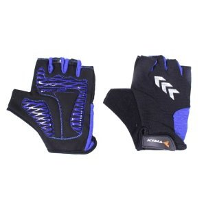 Велоперчатки TRIX, синие фото