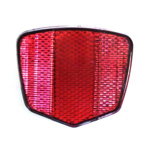 Светоотражатель, задний, красный, пластик, HL-R02 red