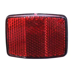 Светоотражатель, задний, красный, пластик, HL-R03А