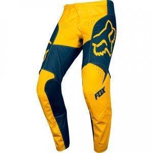 Велоштаны Fox 180 Przm Pant для экстремальной езды, сине-желтый 2019Велоштаны<br>Новые велокроссовые штаны от Fox, основные особенности которых – вставки из эластичного материала в критических местах (на коленях, в задней части и промежности) и оригинальная графика. В остальном, это всё те же традиционные, проверенные временем велокроссовые штаны.<br><br><br><br>ОСОБЕННОСТИ<br><br><br><br>Материал: устойчивый к истиранию полиэстер 600D<br><br>Особый крой для оптимальной посадки <br><br>Кожаные накладки на внутренней части коленей<br><br>Вставки из эластичного материала в критических местах<br><br>Оригинальная графика