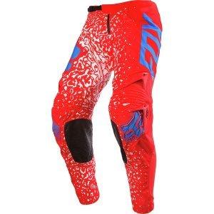 Велоштаны Fox 360 Cauz Pant, красный 2016Велоштаны<br>Традиционные велокроссовые штаны, выполненные из устойчивого к истиранию полиэстера 900D. Основные их особенности – специальный крой, обеспечивающий естественную и удобную посадку, накладки на коленях из устойчивого к истиранию и прожиганию глушителем материала, а также вставки из плотного эластичного текстиля спереди и сзади для большей свободы движений.<br><br>ОСОБЕННОСТИ<br><br>Материал: устойчивый к истиранию полиэстер 900D<br>Особый крой для оптимальной посадки <br>Кожаные накладки на внутренней части коленей<br>Вставка из тянущегося в четырёх направлениях материала в задней части<br>Эластичные вставки в области коленей