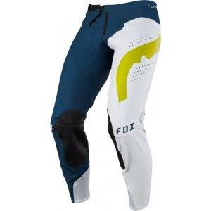 Велоштаны Fox Flexair Hifeye Pant для экстремальной езды, сине-белый 2018Велоштаны<br>Велоштаны Flexair созданы не для тех, кто привык довольствоваться малым, но для гонщиков, стремящихся побеждать. Flexair - самая лёгкая модель от Fox, выполненная из фирменного материала под названием TruMotion, который тянется во всех четырёх направлениях. Таким образом, эти штаны обеспечивают гонщику максимальную свободу движений. Кроме того, текстиль TruMotion более устойчив к истиранию, чем любой другой эластичный материал, применяемый в производстве штанов для велокросса. А лазерная перфорация в критических местах обеспечивает дополнительную вентиляцию и не даст вам перегреться даже в самую жаркую погоду.<br><br><br><br>ОСОБЕННОСТИ<br><br><br><br>Самые лёгкие и технологичные мотоштаны от Fox<br><br>Фирменный текстиль TruMotion тянется во всех четырёх направлениях и более устойчив к истиранию, чем любой эластичный материал, применяемый в производстве штанов для мотокросса<br><br>Лазерная перфорация в критических местах обеспечивает дополнительную вентиляцию