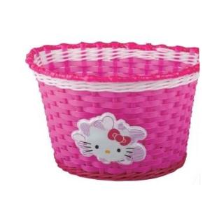 Корзина KITTY детская, пластиковая, на руль, розовая, 00-170429Корзина для велосипеда<br>Корзина KITTY 00-170429<br><br>возраст: детская;<br>размер: 23,5х16,5х15,5 см<br>материал: пластиковая;<br>крепление: универсальное крепление на руль двумя ремешками;<br>цвет: розовая.