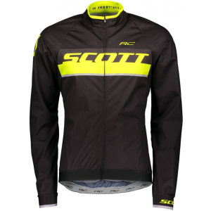 Велокуртка SCOTT RC Pro WB, black/sulphur yellow, 2018, 264828-5024