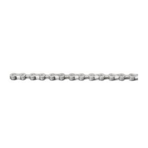 Цепь велосипедная M-WAVE 1/2x11/128, 116 звеньев, с замком, 11 скоростей, 301906Велосипедная цепь<br>цвет: серебряный<br>количество скоростей: 11 скоростей<br>внешняя ширина: 5,5 мм<br>внутренняя ширина цепи: 11/128<br>сегментация цепи: 1/2<br><br>- совместим с Shimano, Campagnolo, Sram (без оригинальной запчасти)<br>- с замком цепи<br><br>вес цепи (110 звеньев): 259 г<br>диапазон применения:<br>- MTB<br>- гоночный велосипед<br>- треккинг<br>- велокросс