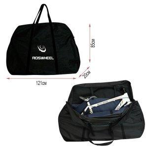 Чехол для велосипеда Roswheel, 121*85*20 см, черный, в торговой упаковке фото