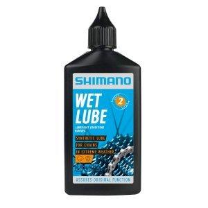 Смазка Shimano Wet Lube, для цепи, для влажной погоды, флакон, 100 мл, LBWL1B0100SA