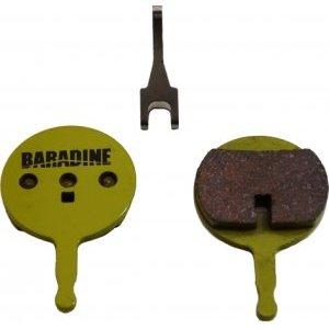 Велоколодки BARADINE DS-38S+SP-38, для дисковых тормозов, SINTERED, Avid BB5 фото