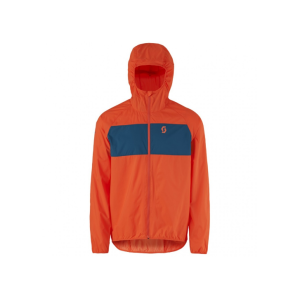 Велокуртка Scott Trail MTN WB 40 tangerine orange/eclipse blue, 250291-5461