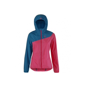 Велокуртка женская Scott Trail MTN WB seaport blue/festival purple, 241835-5034