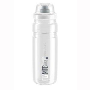 Фляга Elite Fly MTB, 750 мл, прозрачный, защитный колпачок, EL0160719Фляги и Флягодержатели<br>Ультра легкий<br>Прочный пластик <br>Пластиковая крышка защищает от пыли и грязи <br>Эргономичная крышка обеспечивает увеличенный и легкий поток воды или спортивного напитка<br>без БФА<br>Эти бутылки используются лучшими профессиональными командами World Tour <br>Емкость: 750 мл<br>Цвет прозрачный