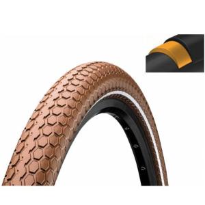 Покрышка велосипедная Continental RIDE Cruiser 26x2,0, 50-559, Reflex, 3/180TPI, коричневая, 101524Велопокрышки<br>Информация о продукте<br>цвет: коричневый<br>диаметр колеса: 26<br>ширина: 2.0<br>плотность: 3/180TPI<br>особенности: Extra Puncture Belt, со светоотражающей полосой