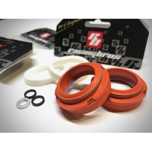 Комплект сальников RacingBros EDGE 35мм, NonFlange, пониженного трения, рыжий, R1510015 фото