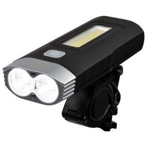 Велофара передняя Briviga USB 1000 Double, светодиоды Cree XM-L2 U2, функция пауэрбанка, EBL-048A фото