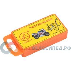 Аптечка заплатки, клей, ниппель, металлическая тёрка, 6-648254 фото