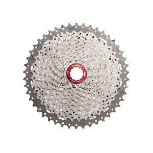Кассета велосипедная SunRace MX8 11S, 11-40T, Metallic Silver, CSMX8.EAXR.XS1