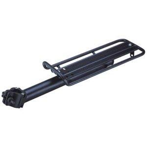 Багажник велосипедный Multibrand, консольный, черный, нагрузка до 10 кг, алюминевый, RU-470