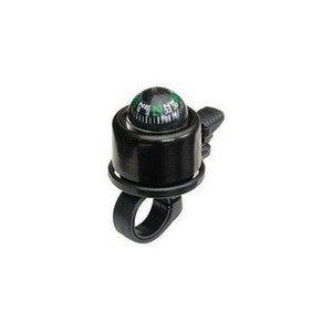 Звонок велосипедный Nuvo, с компасом, малый, на блистере, чёрный, NH-B406APC_blister