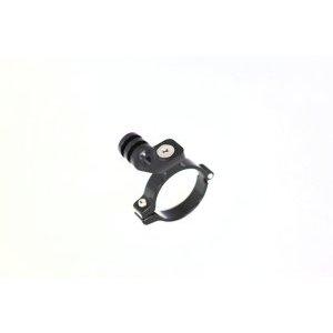 Крепление велосипедное QBEST, для GoPro руль, алюминий, черное, QBA-GP01