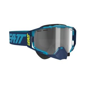 Маска велосипедная Leatt Velocity 6.5 SNX Goggle, Ink/Blue Light Grey, 8020003045