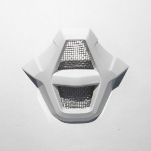 Вставка передняя для шлема Fox V2 Mouthpiece Assembly, White, 05783-008-OS