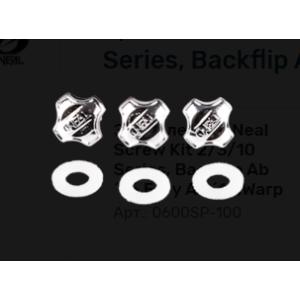 Запчасть (комплект болтов) для шлема O´Neal Screw Kit 2/3/10 Series, Backflip Ab´16,Fury Ab ´14,Warp, 0600SP-100