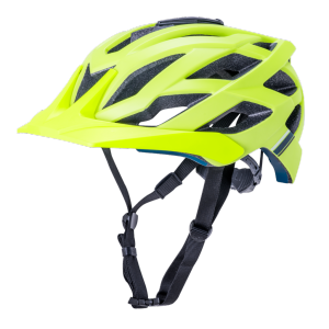 Шлем велосипедный KALI LUNATI ENDURO/MTB, CF, 25 отверстий, с креплением для камеры, MatFluoYlw фото