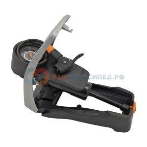 Насос велосипедный SKS AIRSTEP, ножной, давление до 7 Бар/102 PSI, универсальная головка Multiwave, 11511 фото
