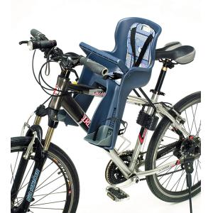 Детское велокресло YC, на подседельную трубу, переднее, синее, до 15 кг, 260x525x190 мм, YC-699 (blue)