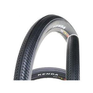 Покрышка велосипедная Kenda K-912, 26''x2.25, слик, черная, 525866 фото