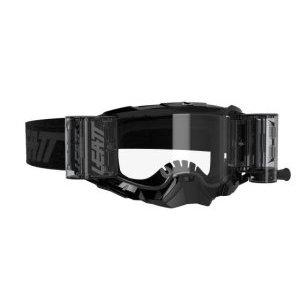 Маска велосипедная Leatt Velocity 5.5 Roll-Off Black/Clear, 8020001075 фото