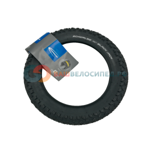 Велопокрышка Schwalbe Black Jack, 12x1.90 (47-203), Active Line, K-Guard, TwinSkin, HS 407, 50 EPI, 11100043.03 фото