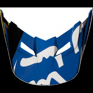 Козырек к велошлему подростковому Fox V1 Race Youth Helmet Visor, Blue, 21306-002-OS фото
