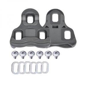 Шипы для контактных велопедалей WELLGO RC-7B, для ROAD R096B и других, с крепежом, свободный ход 6°, серые, 6-190070 фото