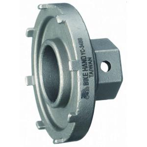 Съемник прижимного кольца электропривода Bosch BIKE HAND YC-34BB, d50mm, для ЭЛЕКТРОВЕЛОСИПЕДОВ, серебро, 6-190340 фото