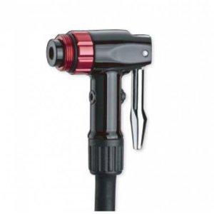 Головка для велонасоса GIYO Schrader/Presta/Dunlop и E/V, с кнопкой сброса давления, GST-B фото
