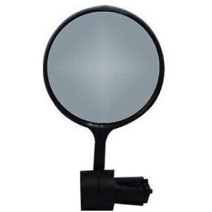 Зеркало велосипедное Vinca Sport, с торцевым креплением, диаметр - 78мм, VM 07