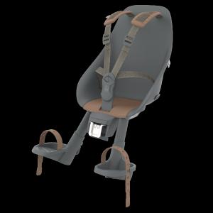 Детское велокресло Compact Adapter Urban iki, на рулевую трубу, черный/коричневый, до 15 кг, 212672_URBANIKI
