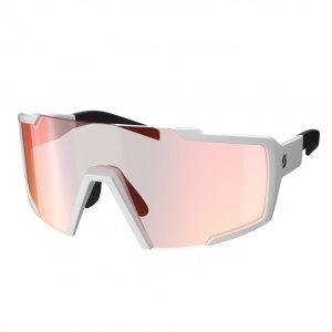 Очки велосипедные SCOTT Shield white red chrome enhancer, 275380-0002009 фото