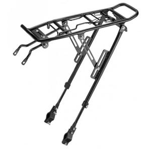 Багажник велосипедный KAI WEI, универсальный, алюминий, с прижимным устройством, черный, KW-667-02