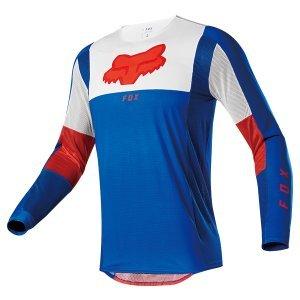 Велоджерси FOX RACING Airline Pilr LE Jersey, сине-красный 2020 фото